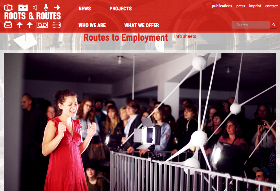 Routes to Employment (project page)