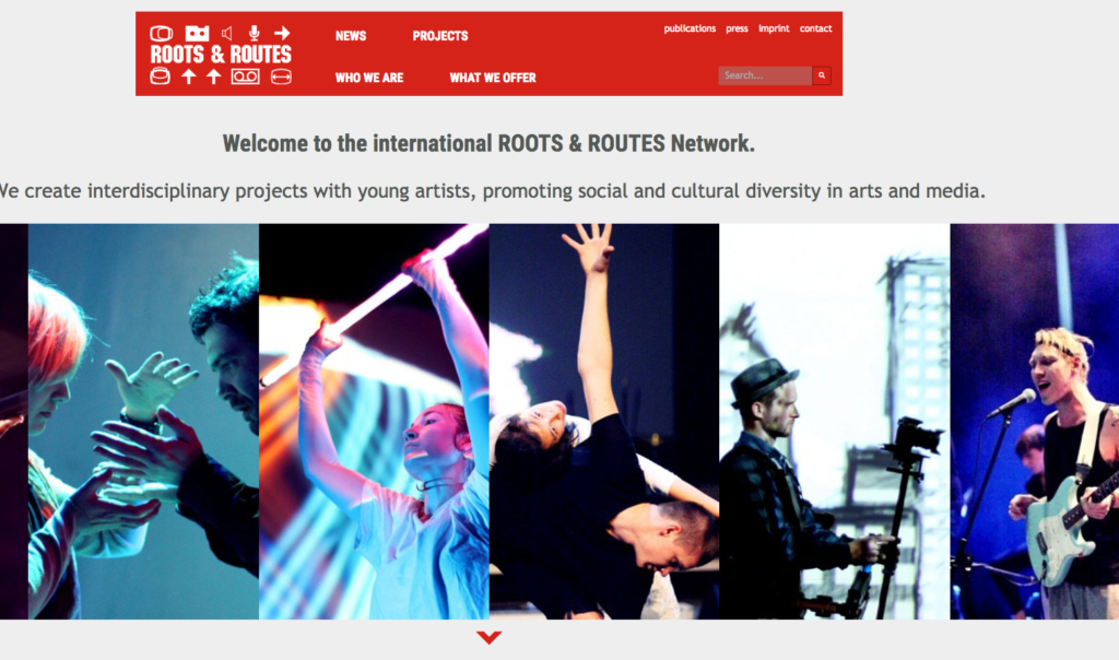 ROOTS & ROUTES INTERNATIONAL new website